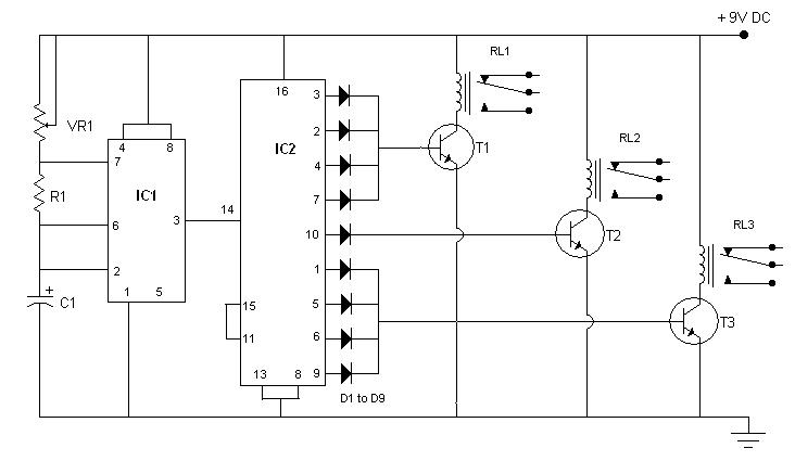 simple traffic light controller sigmatone rh sigmatone com Schematic Wiring Diagram for Street Lighting traffic light controller schematic diagram